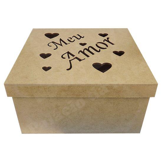 Caixa-Tampa-de-Sapato-em-MDF-Quadrada-20x20x10cm-Meu-Amor---Palacio-da-Arte