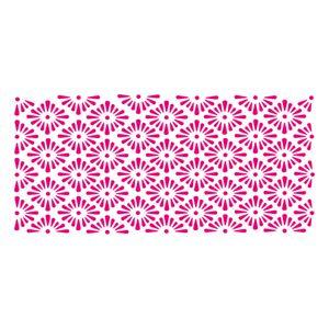 Stencil-Acrilex-33x14-1152-Grade-Floral