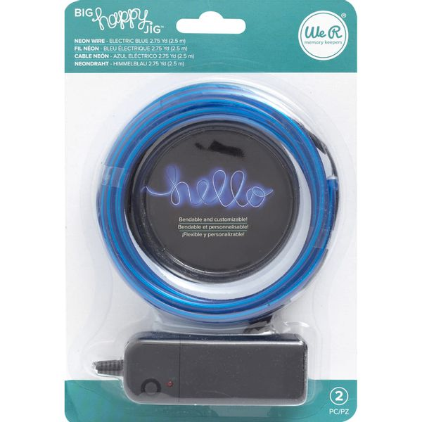 Arame-Neon-para-Big-Happy-Jig-WER409-Azul