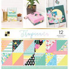 Bloco-de-Papel-Scrapbook-WER384-305x305-com-36-Folhas-Tropical