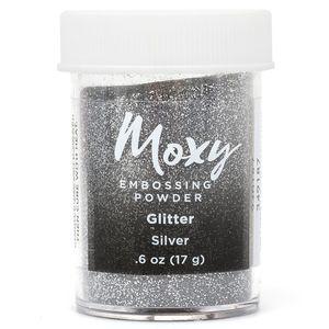 Po-de-Emboss-WER374-17g-Moxy-Glitter-Prata
