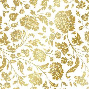 Guardanapo-de-Papel-para-Decoupage-com-Relevo-Ambiente-Luxury-1333108-2-unidades-Flores-Dourado