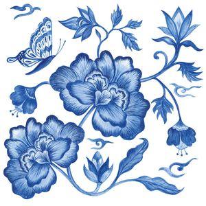 Guardanapo-de-Papel-para-Decoupage-Ambiente-Luxury-1333226-2-unidades-Flor-Azul