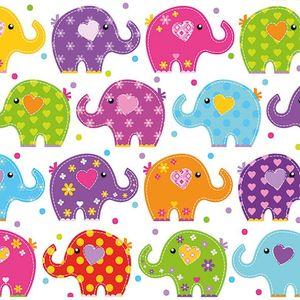 Guardanapo-de-Papel-para-Decoupage-Ambiente-Luxury-13309760-2-unidades-Elefantes-Engracados