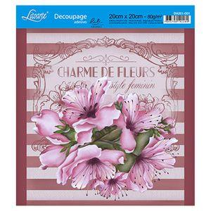 Papel-Decoupage-Adesiva-Litoarte-DA201-001-20x20cm-Flor-de-Pessego