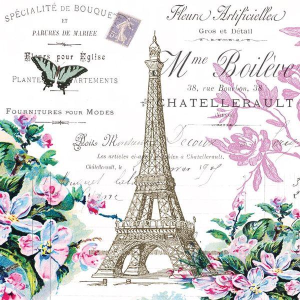 Guardanapo-Decoupage-Ambiente-Luxury-LA-TOUR-EIFFEL-007721-2-unidades-Torre-Eiffel