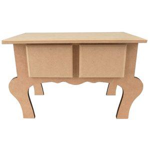 Mini-Aparador-Decorativo-com-2-Gavetas-em-MDF-255x16x13cm---Palacio-da-Arte