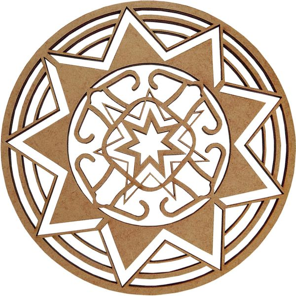Mandala-em-MDF-14x14cm-Estrela---Palacio-da-Arte