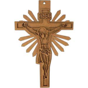 Placa-Decorativa-e-Aplique-em-MDF-Crucifixo-30x192cm---Palacio-da-Arte