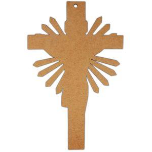Placa-Decorativa-em-MDF-Crucifixo-Lisa-30x192cm---Palacio-da-Arte