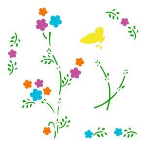 Stencil-Acrilex-13x13-1140-Floral-2