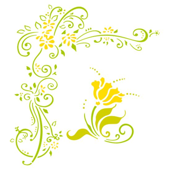 Stencil-Acrilex-13x13-1148-Tribal-Flores