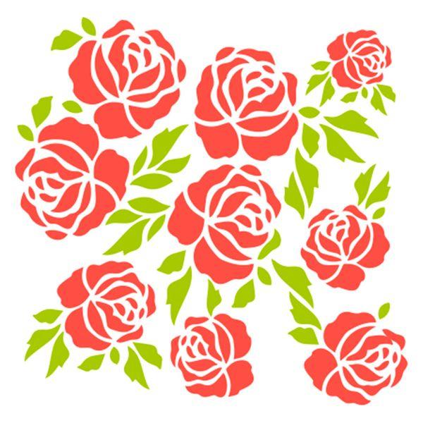 Stencil-Acrilex-13x13-1181-Rosas-1-Floral