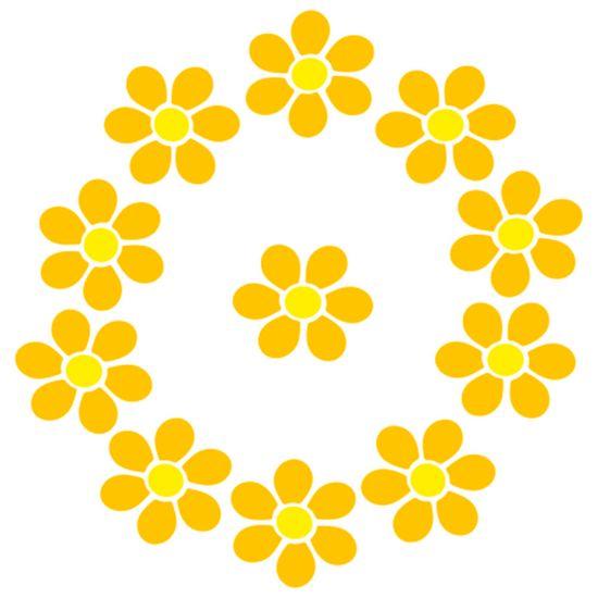 Stencil-Acrilex-13x13-1188-Flores-do-Campo-Floral