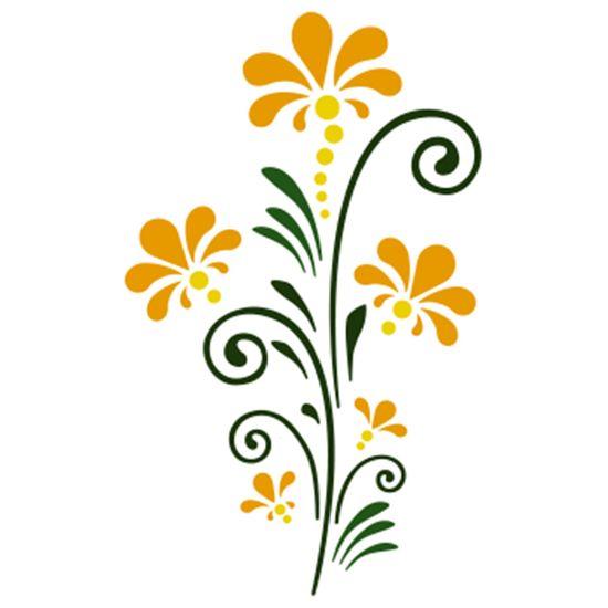 Stencil-Acrilex-10x10-1148-Tribal-Flores