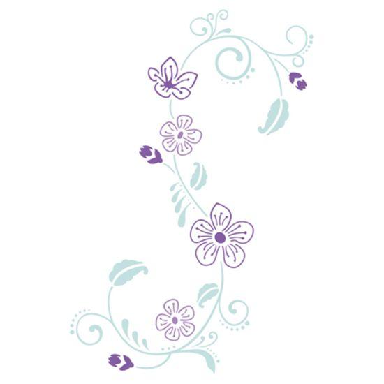 Stencil-Acrilex-21x15-1139-Floral