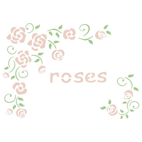 Stencil-Acrilex-21x15-1181-Rosas-1-Floral