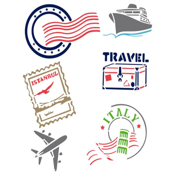 Stencil-Acrilex-21x15-1515-Travel