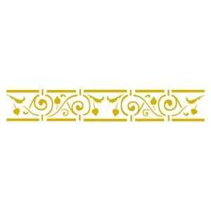 Stencil-Acrilex-30x8-1152-Barra-Grade-Floral