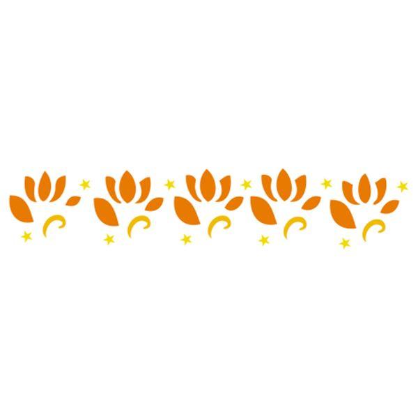 Stencil-Acrilex-16x3-1185-Tulipas-Floral