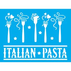 Stencil-Litocart-20x15-LSM-156-Italian-Pasta