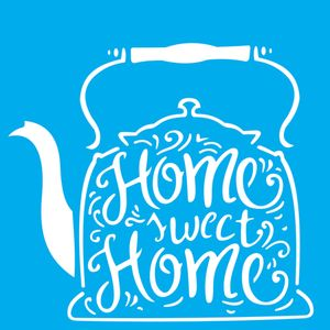 Stencil-Litocart-20x20-LSQ-180-Chaleira-Home-Sweet-Home
