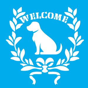 Stencil-Litocart-20x20-LSQ-181-Cachorro-Welcome
