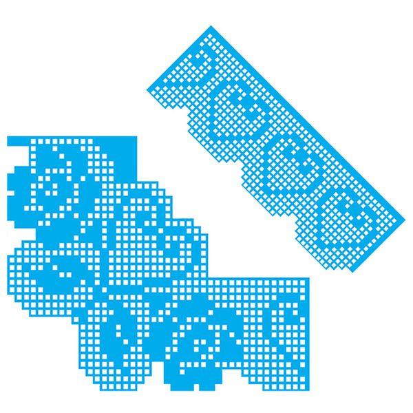 Kit-Stencil-Croche-Litocart-LSDC-001-com-2-pecas-Coracao
