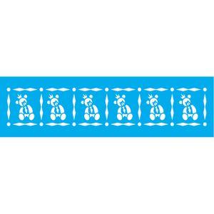Stencil-Litocart-30x85-LS-073-Ursinho-Gravata