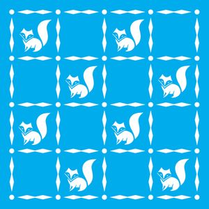 Stencil-Litocart-20x20-LSQ-182-Raposas