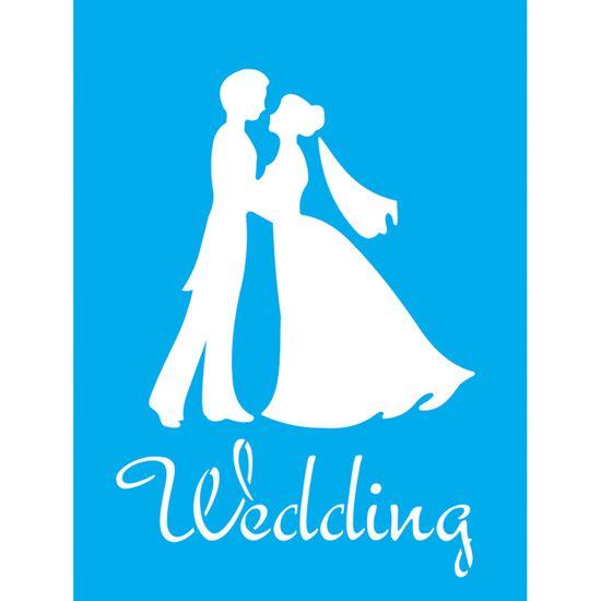 Stencil-Litocart-20x15-LSM-151-Wedding-Casamento