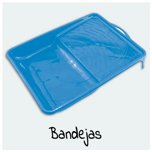 Bandejas - Aqui você encontra bandejas para pintura, Lava Pincéis e Suporte para Pincéis. Bandeja para pintura com tamanhos variados e funções diferentes.