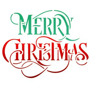 Stencil-OPA-Natal-20x25-2556-Merry-Christmas