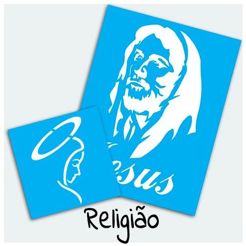Stencil Religião - Stencil com estampas ligadas a religiões diversas. Encontre imagens de Santo, Oração, Espírito Santo, Terço, Buda, Anjos e muito mais.