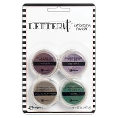 Po-para-Emboss-Letter-It-Embossing-Powder-Graceful-LEP64268-com-4-unidades-Ranger