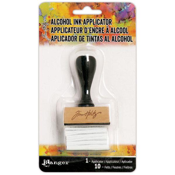 Mini-Aplicador-de-Tinta-a-Alcool-Retangular-Mini-Applicator-Tool-TIM20745-com-1-Suporte-e-10-Feltros-Ranger
