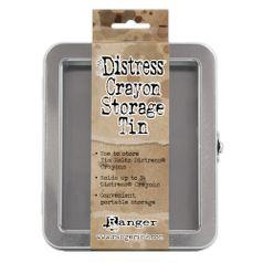 Estojo-para-Canetas-Distress-Crayon-Storage-Tin-TDA56485-Ranger