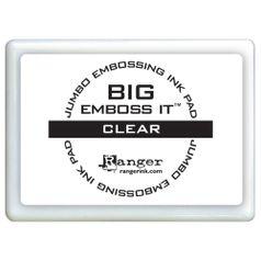 Almofada-Carimbeira-Transparente-para-Embossing-Big-Emboss-It-Clear-EMB34131-Ranger