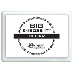 Almofada-Carimbeira-Transparente-para-Embossing-Big-Emboss-It-Clear-EMB34131-Ranger