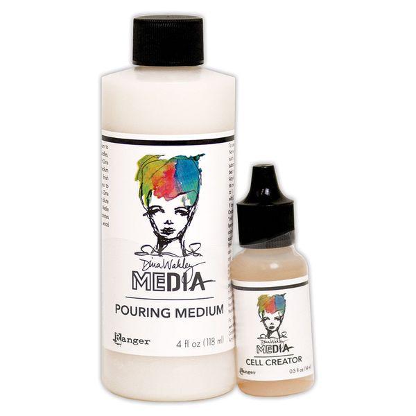 Pouring-Medium-Media-118ml---Cell-Creator-14ml-Dina-Wakley-MDA63285-Ranger