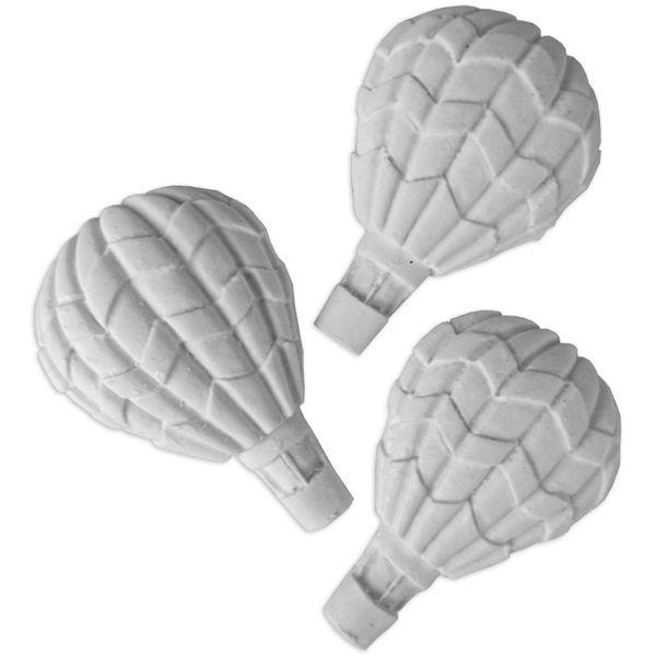 Aplique-de-Resina-Balao-Frisado-5x35cm-com-3-Pecas
