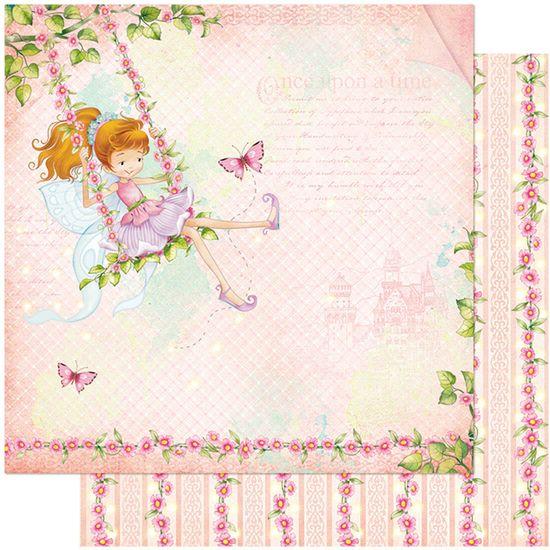 Papel-Scrapbook-Litoarte-305x305-SD-1033-Fada-Infantil