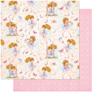 Papel-Scrapbook-Litoarte-305x305-SD-1034-Fadas-Infantis