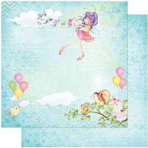 Papel-Scrapbook-Litoarte-305x305-SD-1037-Fada-Infantil