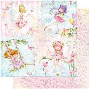 Papel-Scrapbook-Litoarte-305x305-SD-1038-Fadas-Infantis