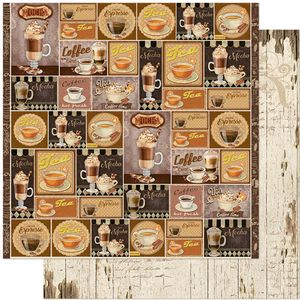 Papel-Scrapbook-Litoarte-305x305-SD-1126-Tags-Cafe