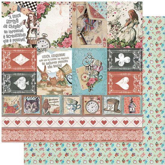 Papel-Scrapbook-Litoarte-305x305-SD-1133-Alice-Tags