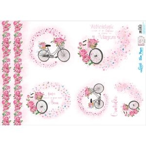 Slim-Paper-Decoupage-Litoarte-473x338-SPL-059-Bicicleta-e-Rosas