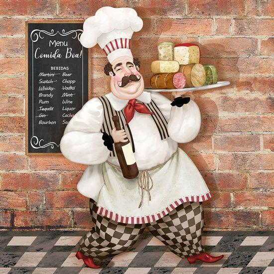 Papel-para-Arte-Francesa-Litoarte-21x21-AFQ-432-Cozinheiro