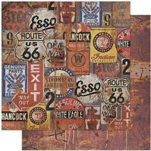 Papel-Scrapbook-Litoarte-305x305-SD-1111-Rustico-Placas